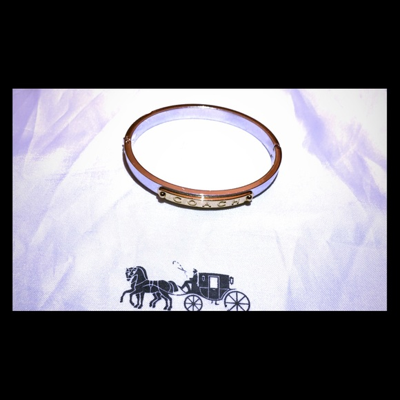 Coach Jewelry - Coach Hinged Bangle